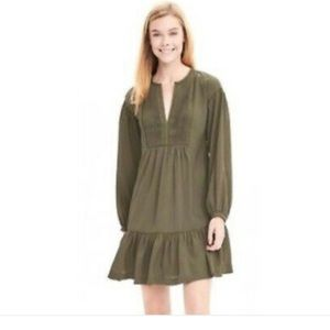 Banana Republic Boho Choc Dress Small